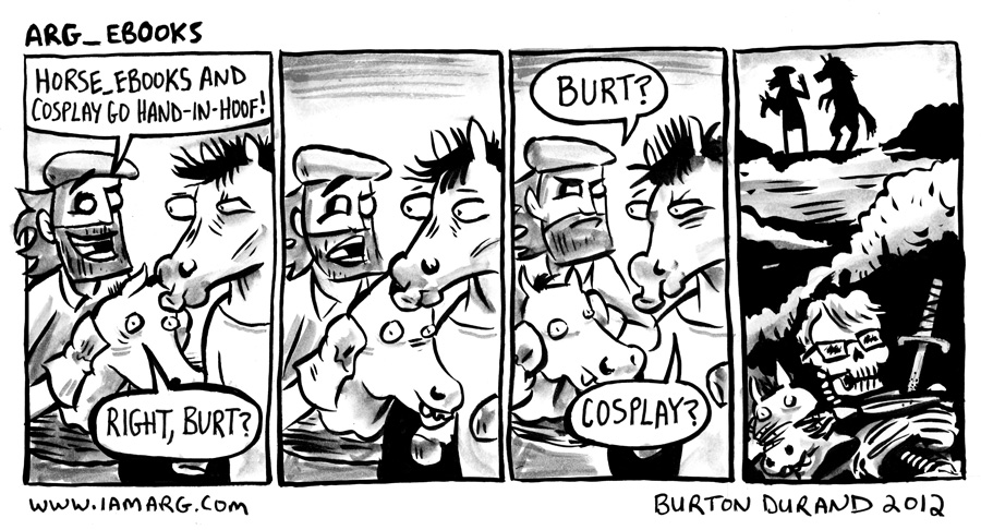 Guest Comic By Burton Durand