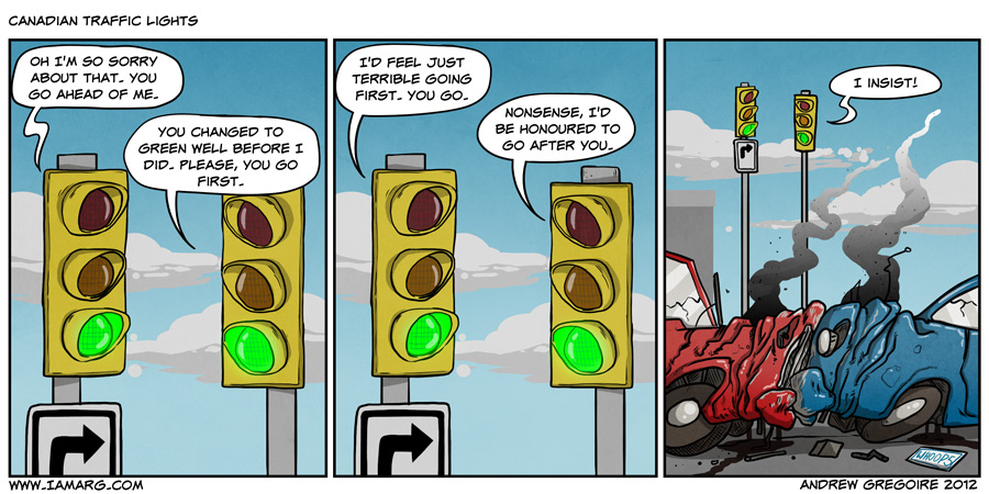 Canadian Traffic Lights